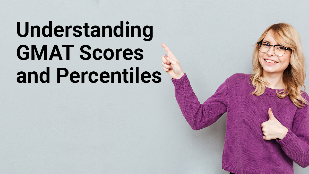 How do you calculate GMAT scores and percentiles