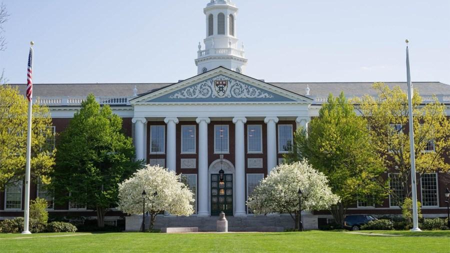 A scholarship-friendly MBA School is Harvard Business School