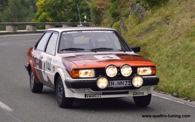 Rossfeld Rennen - Audi 80 Harald Demuth