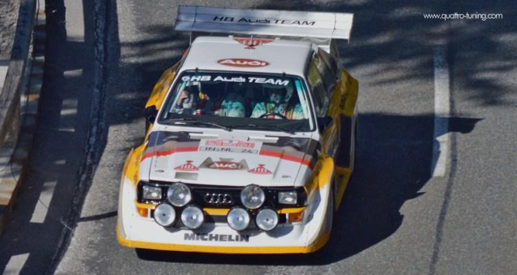 Rossfeld Rennen - Audi S1 Harald Demuth