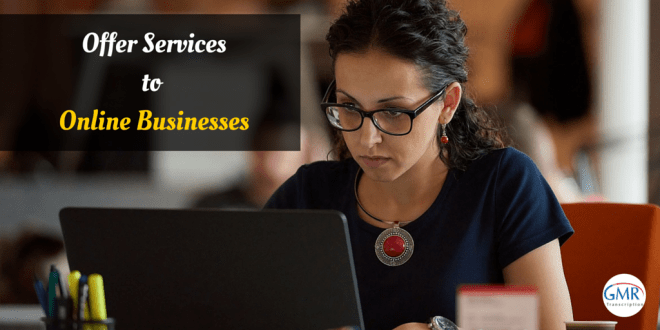 Offer Services to Online Businesses