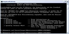 Konsole, DOS-Fenster, Kommandozeile, Eingabeaufforderung oder Terminal 2