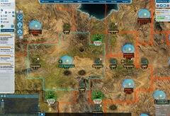 Spielbildschirm von Tiberium Alliance