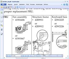 Support und Dokumentation von IBM/Lenovo 8