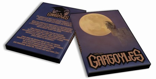 selbst erstelltes Gargoyles Cover