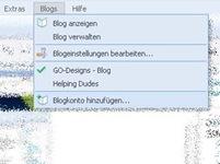 Blog hinzufügen