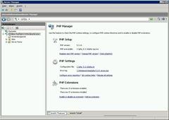PHP verwalten auf Windows Servern 9