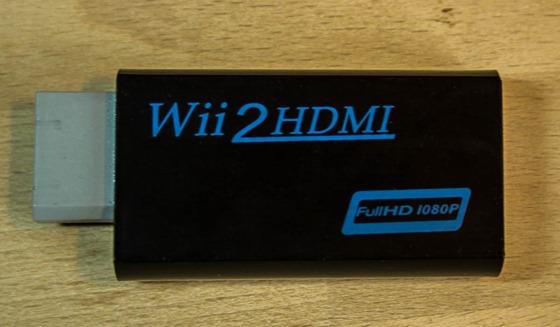 HDMI Adapter für die Wii (1) 2