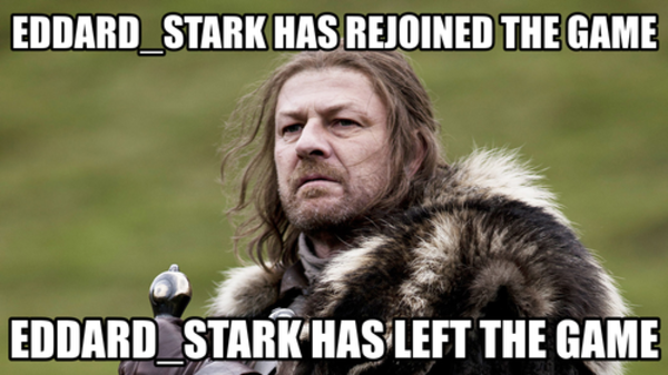 Ed Stark leaves Game of Thrones