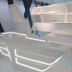 Tron Inspired Kitchen