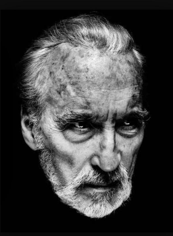 Sir Christopher Lee a legend of our time.
