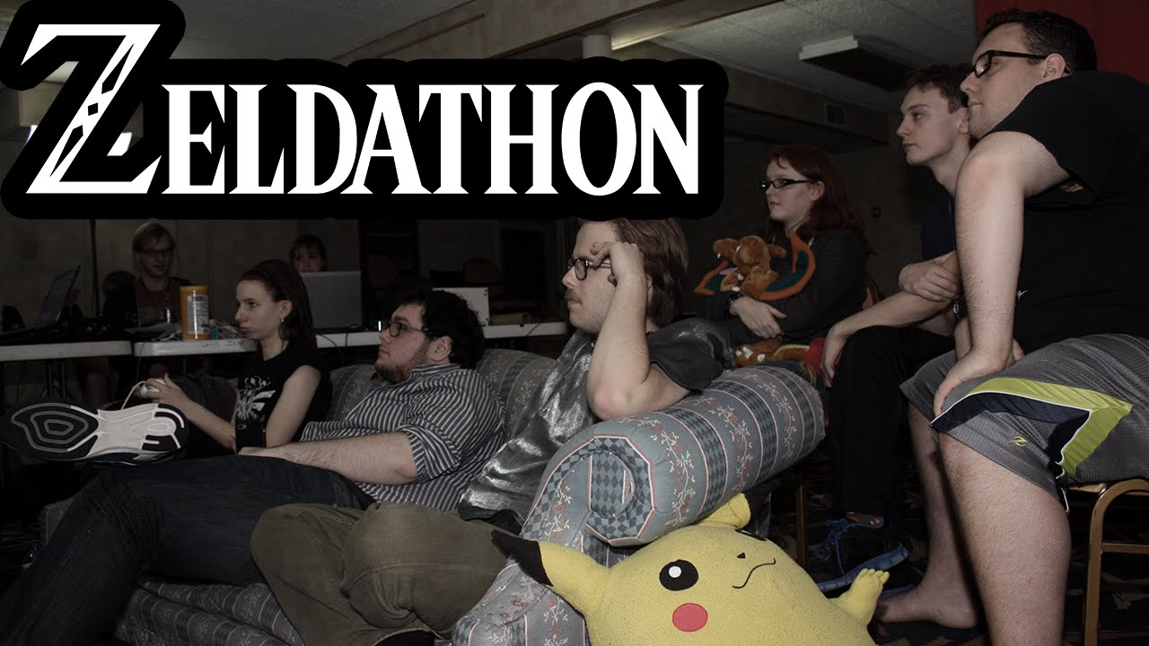 Zeldathon Deluxe Has Begun!