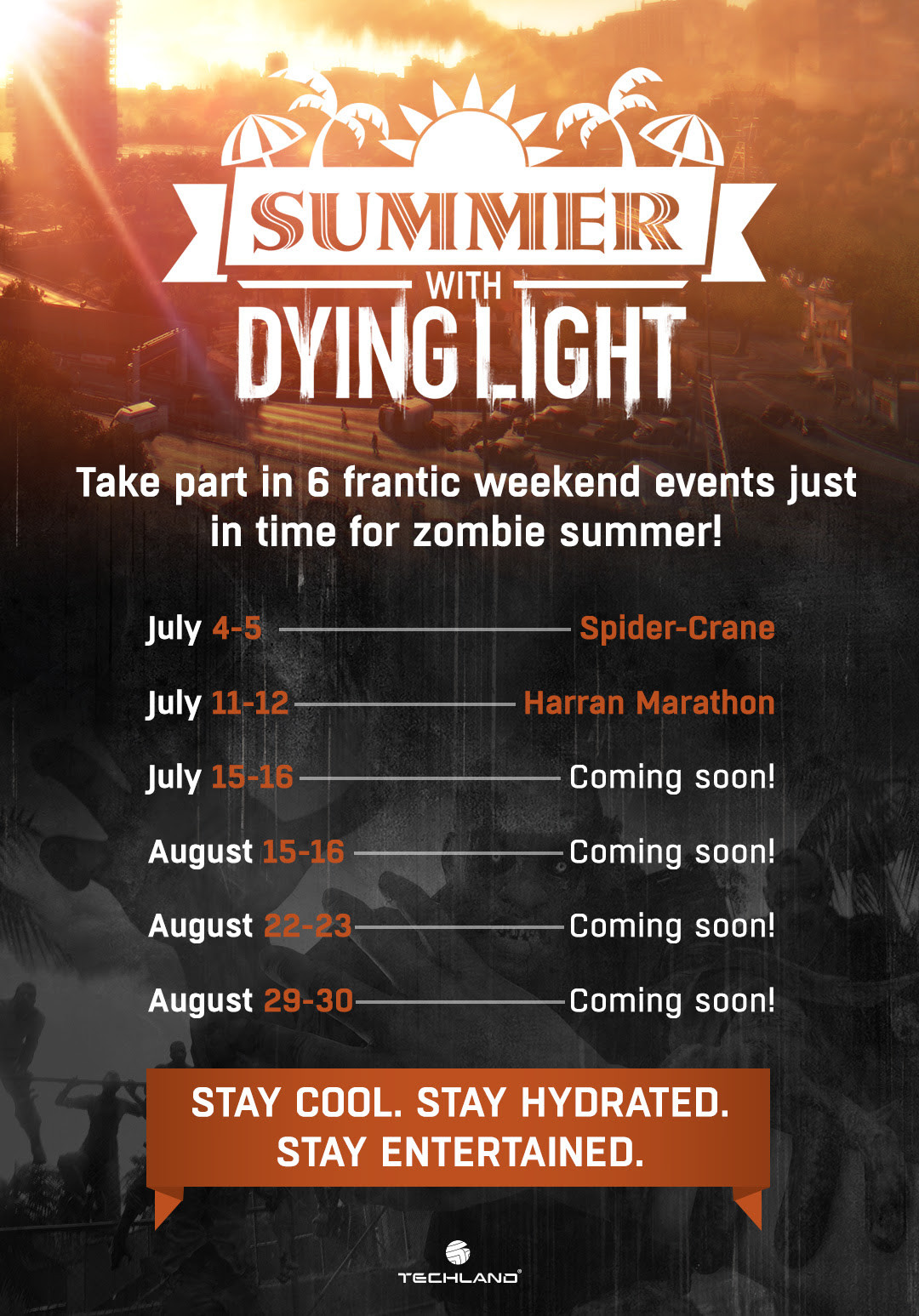 Dying Light – Techland announces Summer Campaign