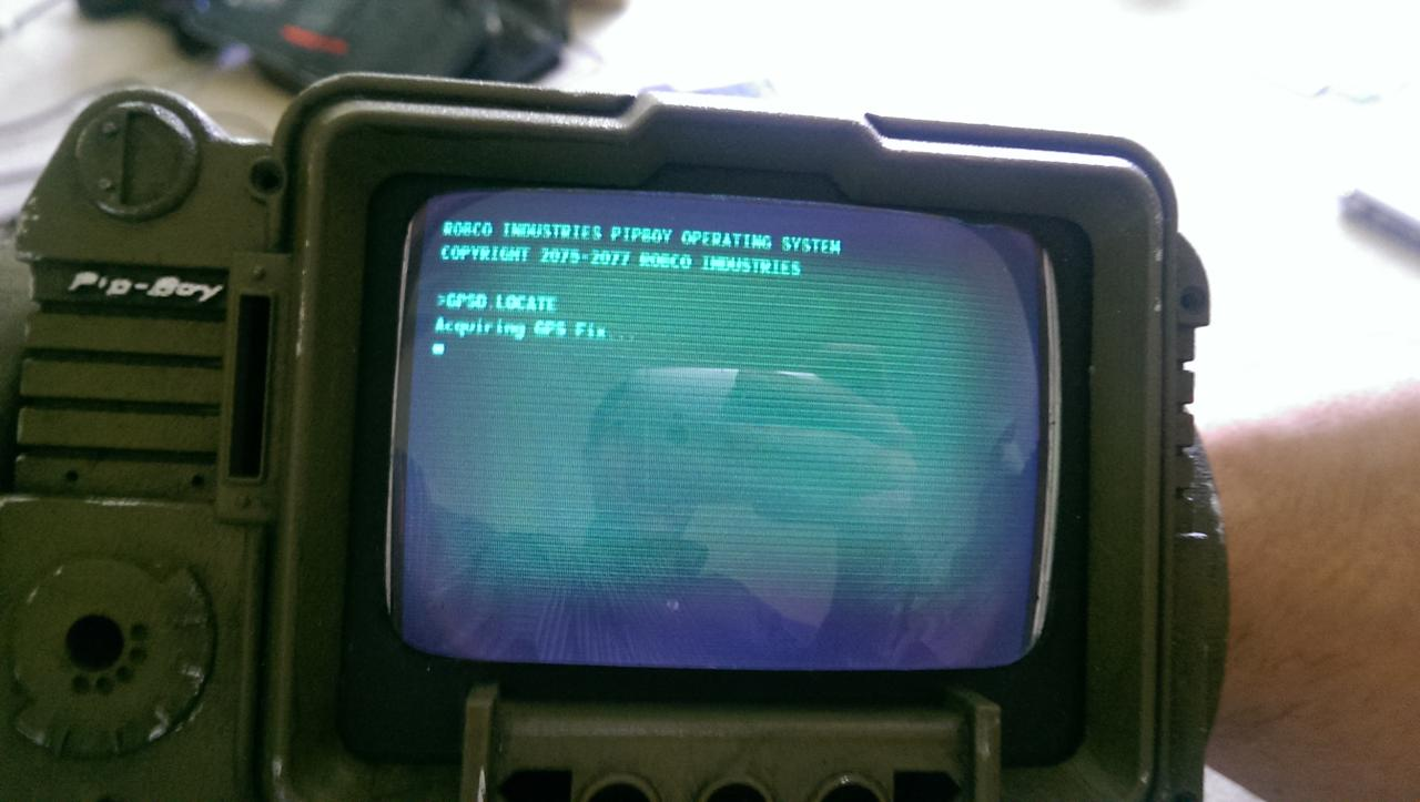 A Fallout Fan creates a Real-World Pip-Boy