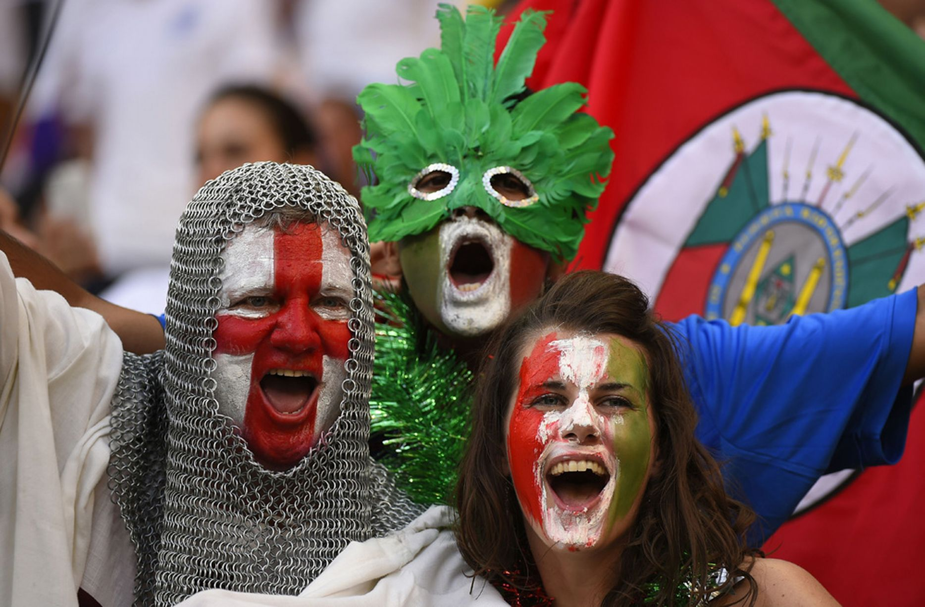 Evidence that Football Fans are Secretly Cosplay Enthusiasts