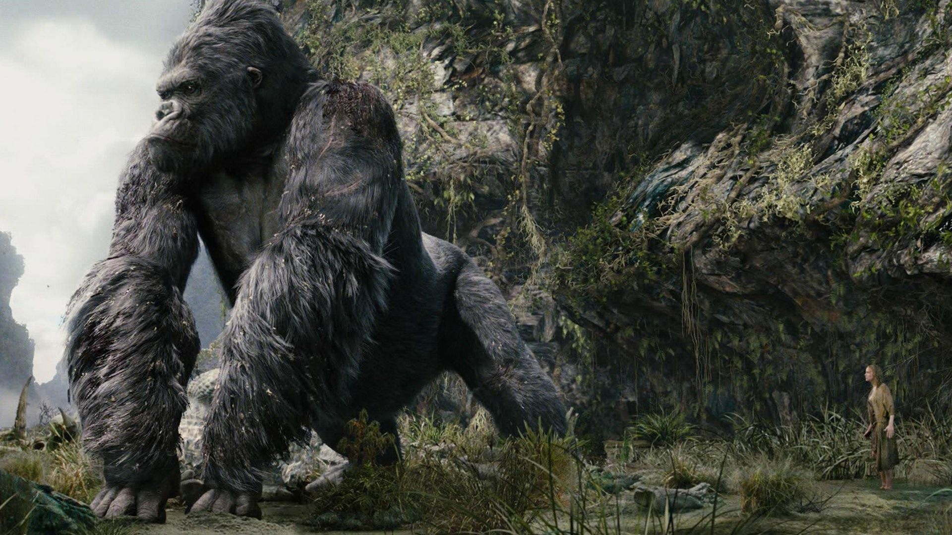 Kong: Skull Island's Ape Will Be The Biggest One Ever.
