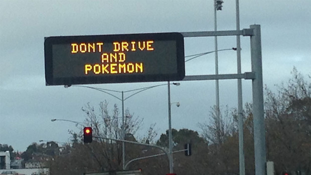 POKEMON GO PLAYER CRASHES INTO SCHOOL WHILE DRIVING