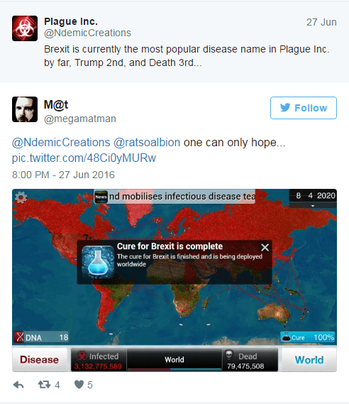 Plague Inc which can be purchased on Iphone app store.