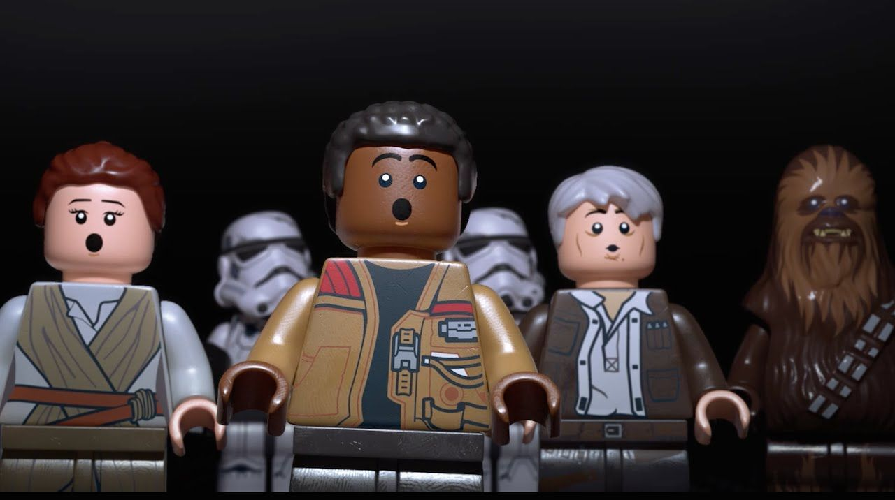 Lego Star Wars The Force Awakens Makes an Amazing Break Through in the Top 10 UK Sales Chart.