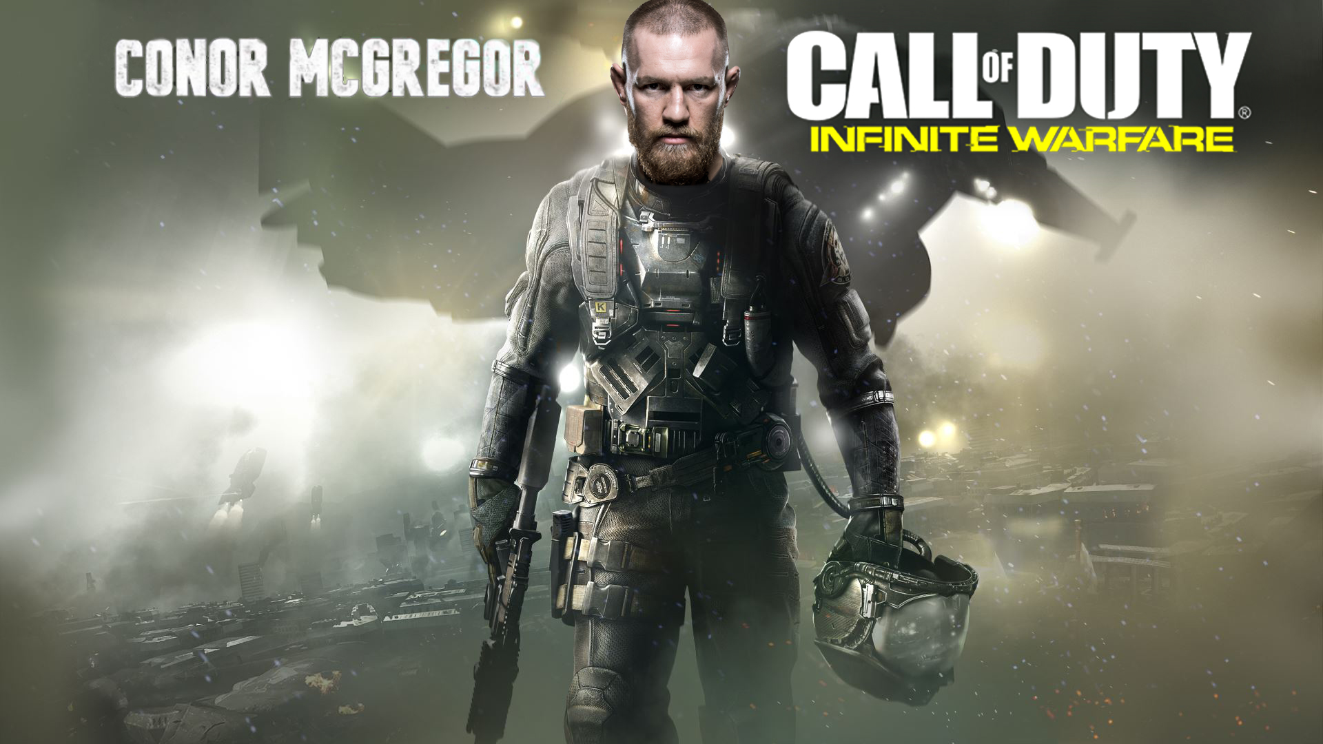 Call of Duty Infinite Warfare: Conor McGregor to Appear in New Game