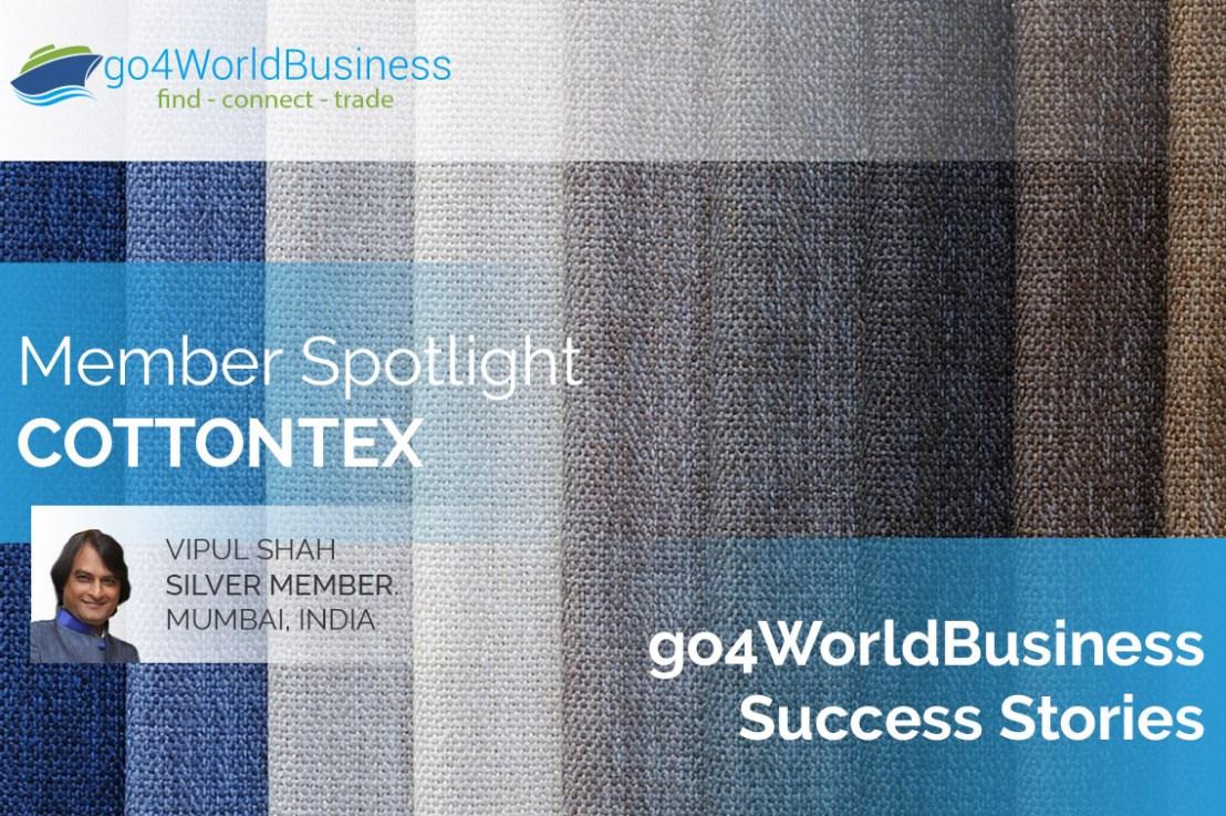 Member Spotlight: Vipul Shah, CottonTex