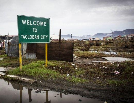 Tacloban City Sign, by Alison Baskerville