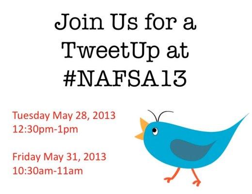 NAFSA 2013 #TweetIEs