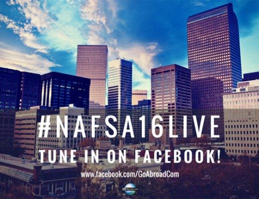 #NAFSA16LIVE