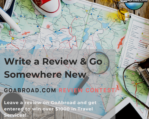 goabroad.com write a review and go somewhere new