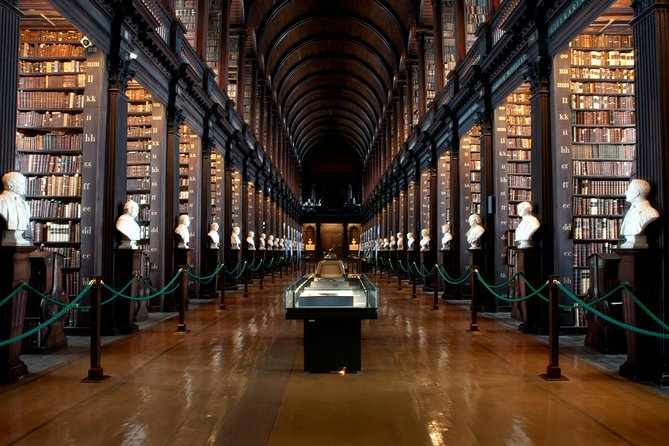 The Long Room at Trinity College in Dublin.