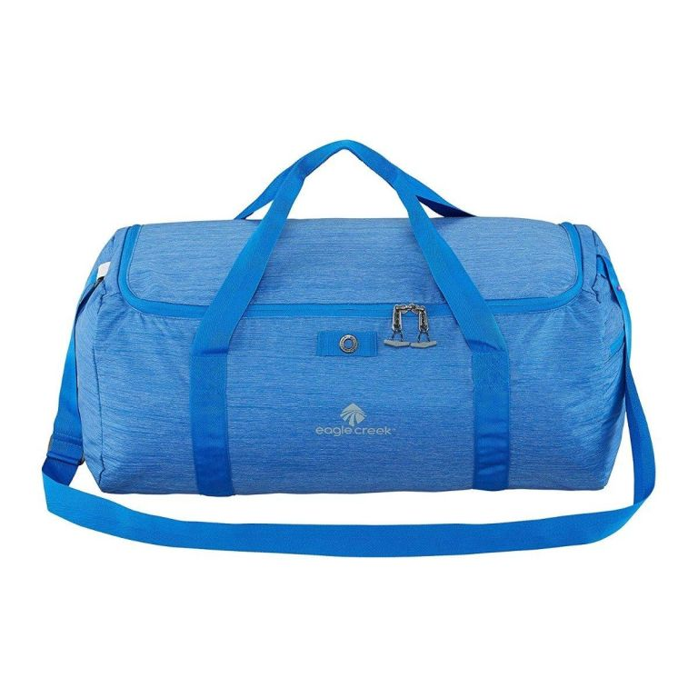 Eagle Creek packable bag in blue.