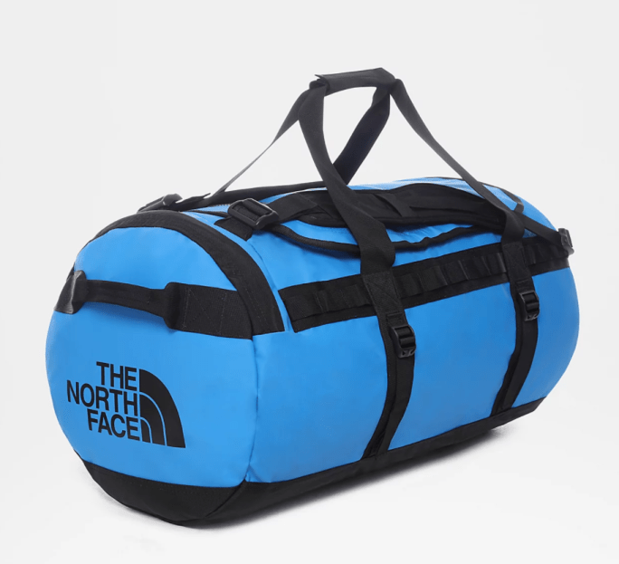 The north face base camp duffel is one of the best duffel bags for adventure travellers.