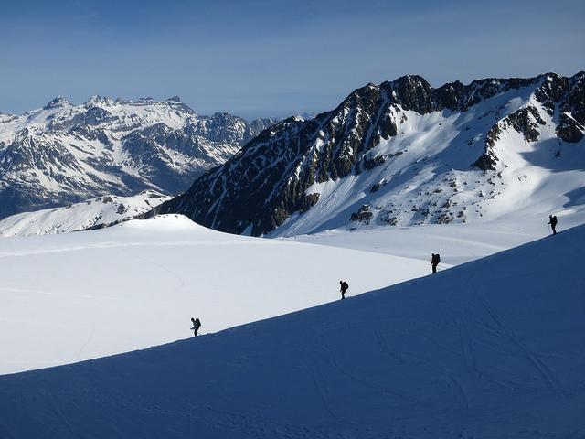 Flickr user JM Fumeau Glacier du Tour, Chamonix