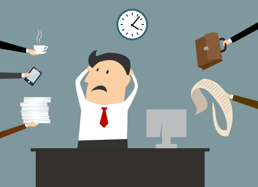 stress multitasking