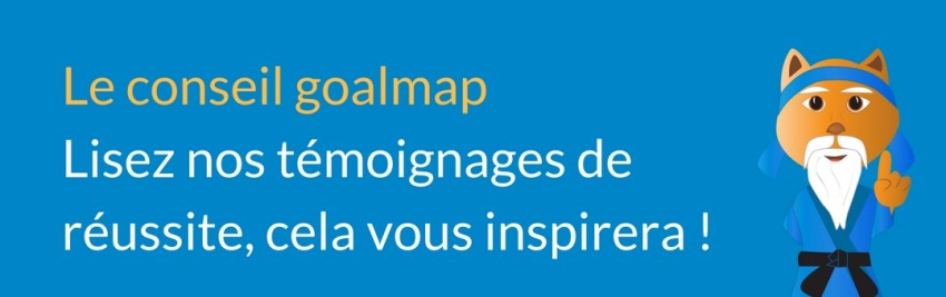conseil goalmap objectifs