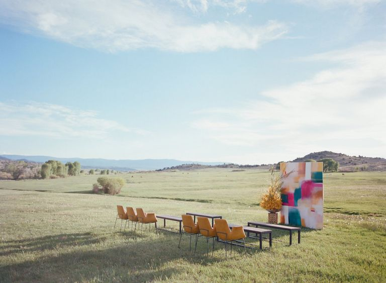 destination wedding in Wyoming