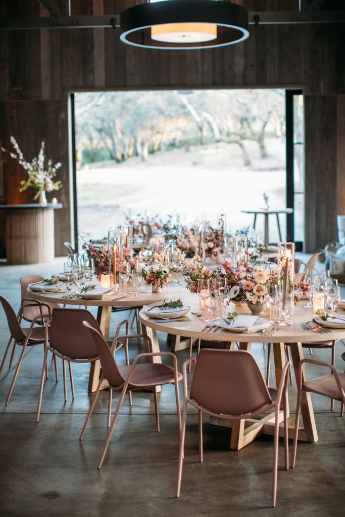 Sonoma Vineyard Estate Wedding Decor