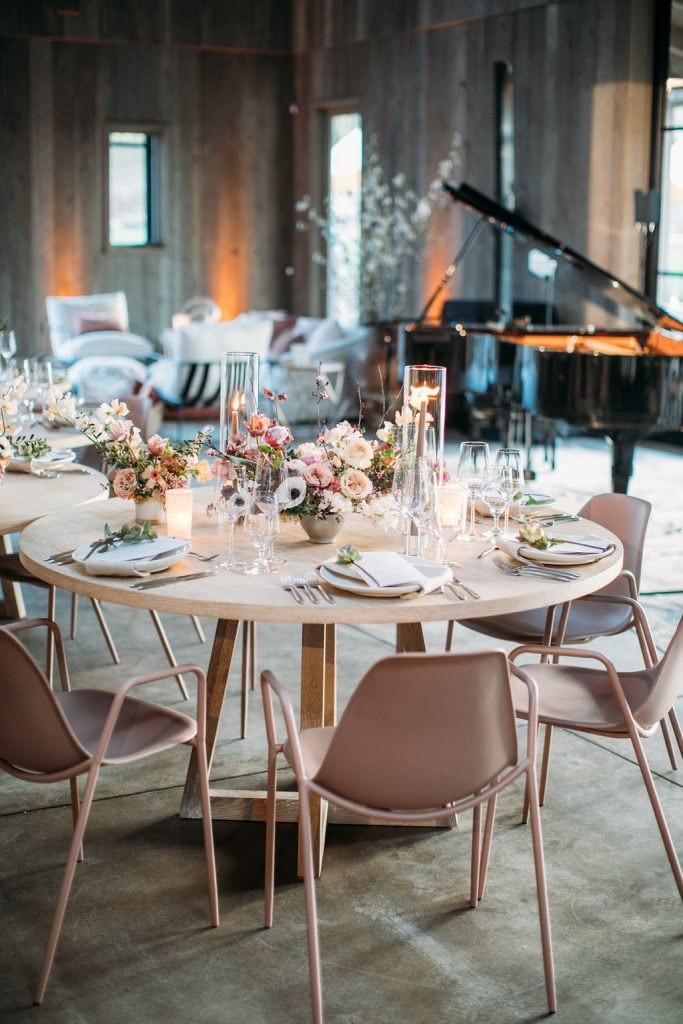 Sonoma Vineyard Estate Reception Decor