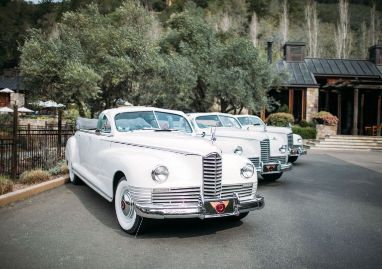 CC Wine Tours vintage cars