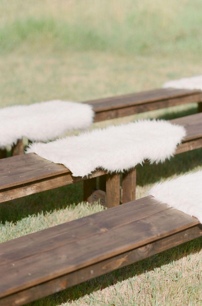 bella-outdoor-wedding-ceremony-ideas-bench-seating