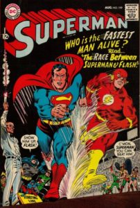 119826_0b404585be7cc8a7945bc4b5ef50f1106cd08b08-202x300 On Your Mark, Get Set….Collectible Superman-Flash Races