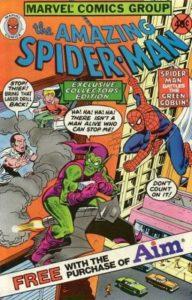 ASM-Aim-Toothpaste-Giveaway-192x300 Profitable Spider-Man Promo Comics