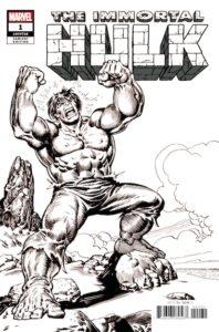 735530_immortal-hulk-1-buscema-b-w-remastered-variant-198x300 Can the Immortal Hulk Die?