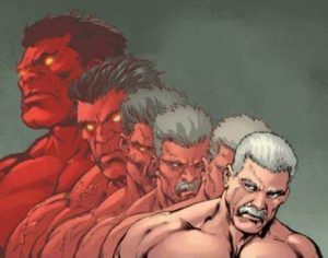 Red-Hulk-transformation-300x236 Minus Norman Osborn, the MCU Could Turn to Two Classic Villains for Dark Avengers