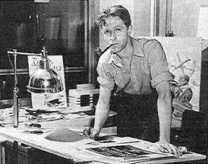 Bill_Everett_1940s-300x237 Artist Spotlight on Bill Everett