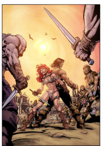 assis-leite-conan-vs-red-sonja-color-sample1-by-assis-leite-213x300 Barbarian Bucks: Red Sonja vs. Conan