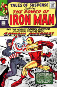 117571_84a3c396c7f6acfc71105dde4ca3f003b162b7d9-198x300 Captain America v. Other Heroes:  Tales of Suspense #58, #98, etc