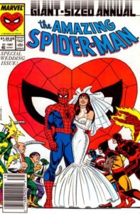 680634_the-amazing-spider-man-annual-21-cover-a-197x300 Weddings:  Spider-Man, Fantastic Four, and Wanda/Vision