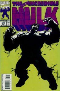 722672_the-incredible-hulk-377-3rd-printing-197x300 Professor Hulk: Shades of Green