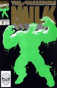 722673_the-incredible-hulk-377-2nd-printing-195x300 Professor Hulk: Shades of Green